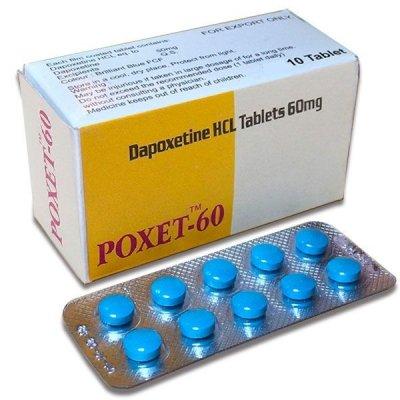 Дапоксетин (POXET 60 мг)